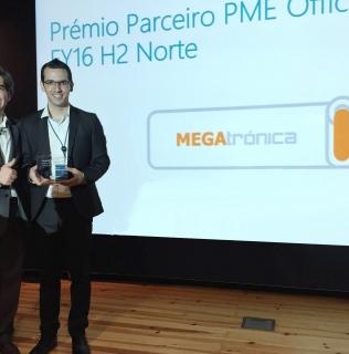 Microsoft Distingue pela 2ª vez consecutiva, a MEGATRÓNICA como Parceiro PME Office 365.